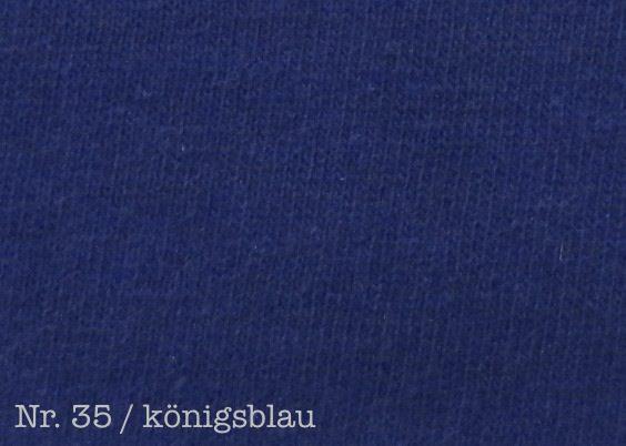 Farbe königsblau Fixleintuch De Luxe