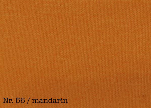 Farbe mandarin Fixleintuch  De Luxe