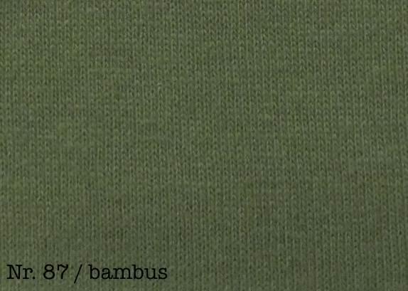 Farbe bambus Fixleintuch De Luxe