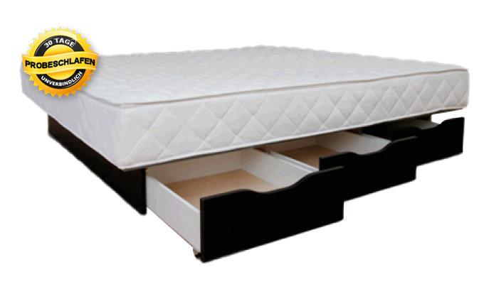 Wasserbett Softside mit Schubladen